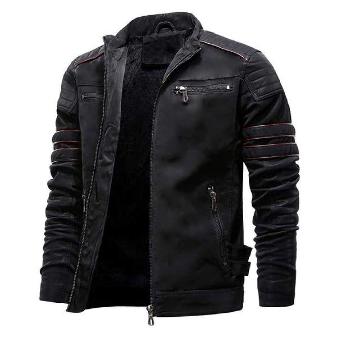 Drifter leather jacket - Black / S