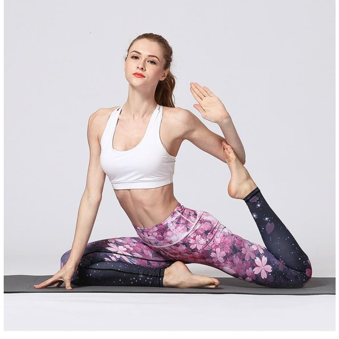 Fairy flower leggings - L - Pants