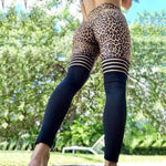 Leo mesh leggings - S - sport high waist workout fitness