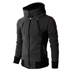 Polar collar jacket - Dark gray / S