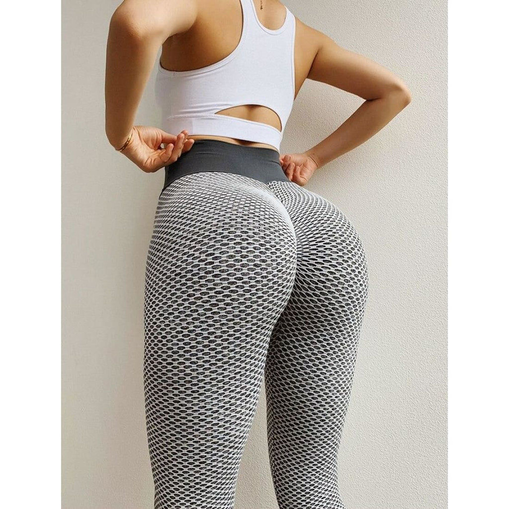 Push-Up leggings - Gray / S - Pants