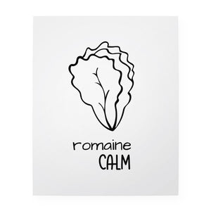 "Romaine Calm 8"" x 10"" Art Print"