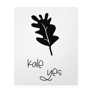"Kale Yes 8"" x 10"" Art Print"