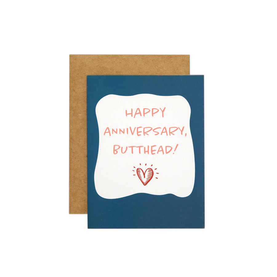 Happy Anniversary Butthead Card