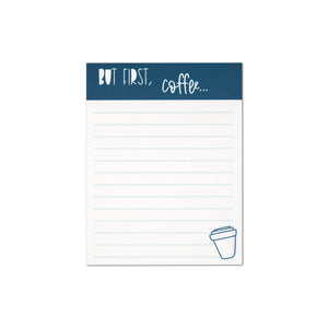But First, Coffee Notepad