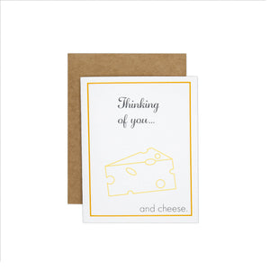 Thinking of You… and Cheese Card