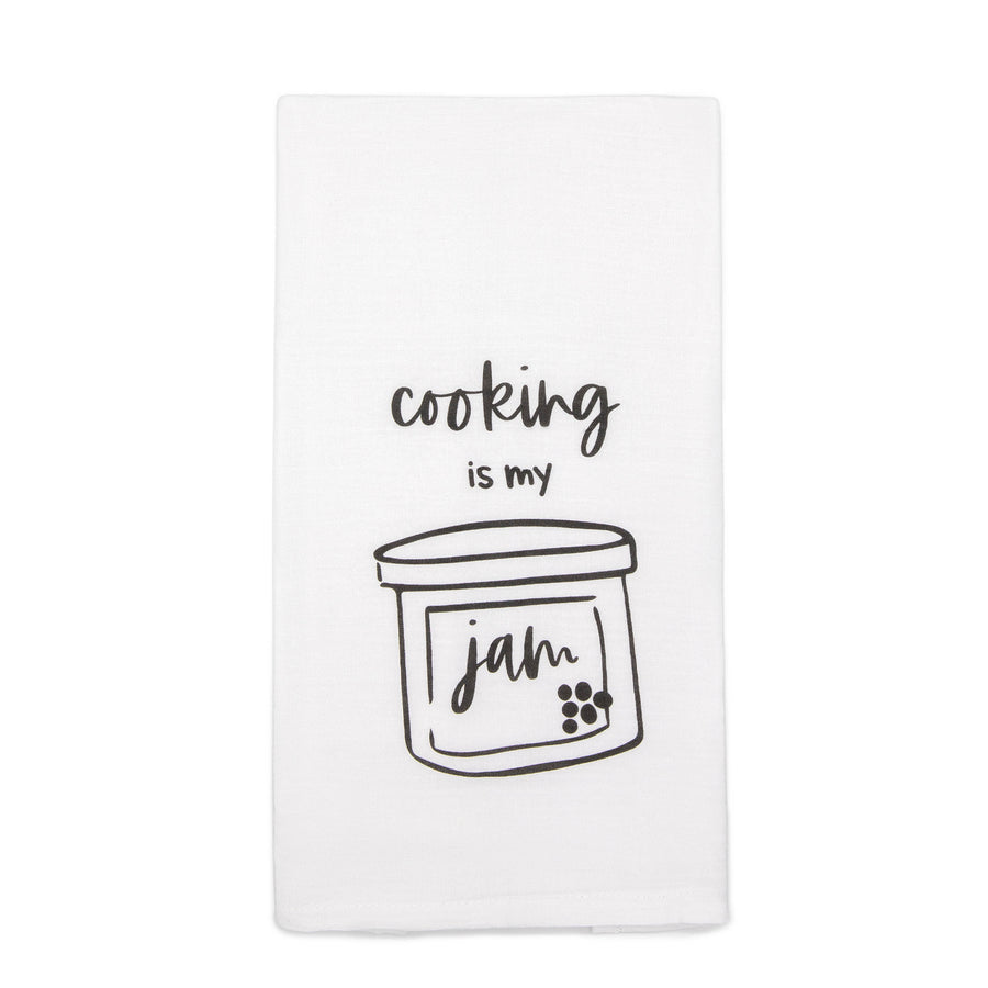 Cooking is my Jam Tea Towel