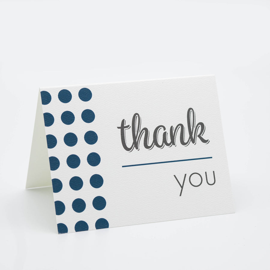 Thank You - Dots Card