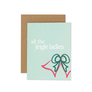 jingle ladies Card