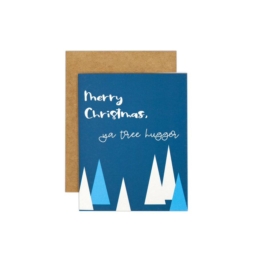 tree hugger Card
