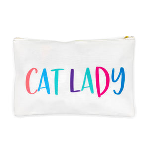 Cat Lady Zipper Bag