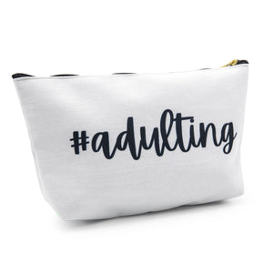 Adulting Zipper Bag