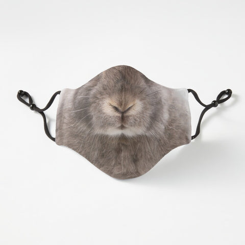 Bunny Nose Fitted Face Mask