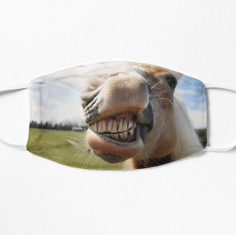 Horse nose funny protective face mask