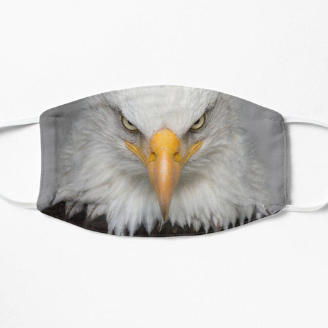 Patriotic eagle face mask USA