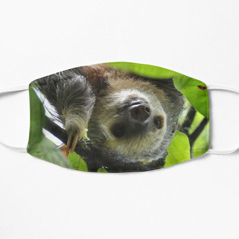 Sloth face mask cloth cover
