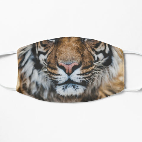 Tiger face mask nose