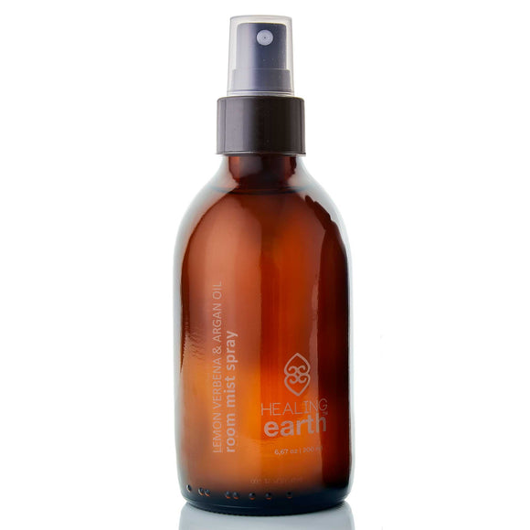 lemon verbena room mist spray 200ml amber glass