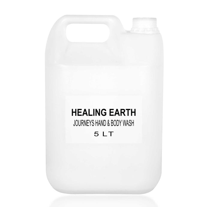 healing journeys hand & body wash 5l bulk refill