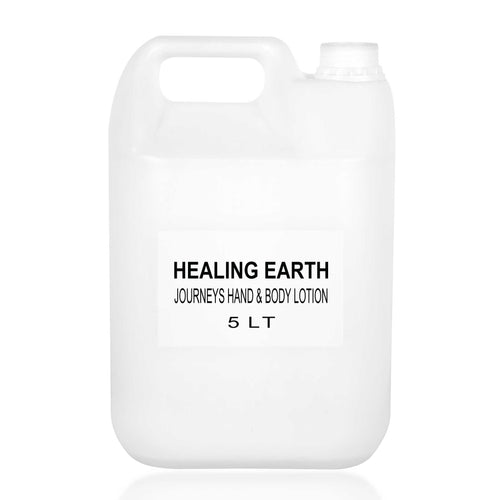 healing journeys hand & body lotion 5l bulk refill