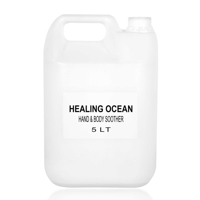 healing ocean hand and body soother 5l bulk refill