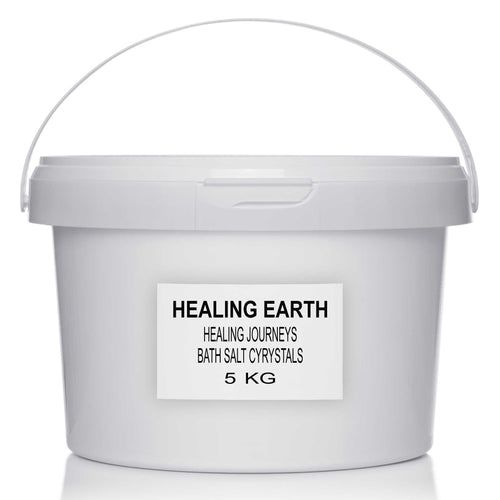 healing journeys bath salt crystals 5 kilogram bulk refill