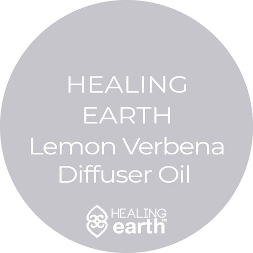 Healing Earth Lemon Verbena Diffuser Oil 500ml refill available at SR Amenities Hotel and Spa Supplies
