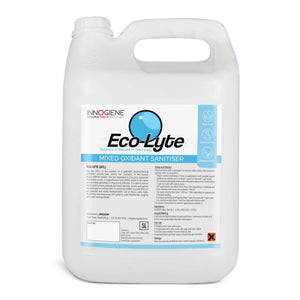 ECO-LYTE NTL in a 5 litre container. Non-toxic, chemical free, biodegradable disinfectant. Buy at www.sramenities.co.za.