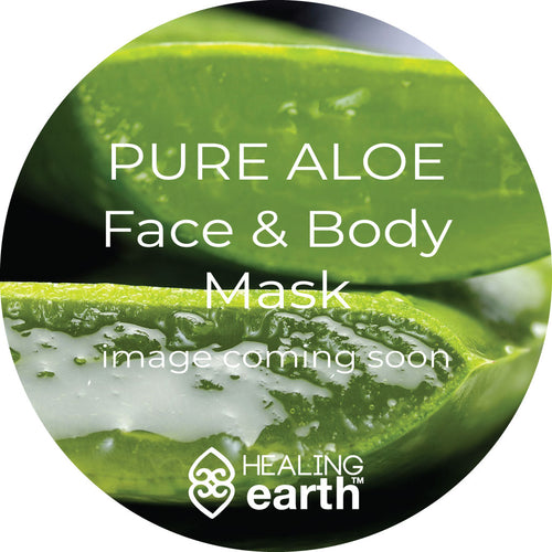Pure Aloe Face and Body Mask, 450 ml