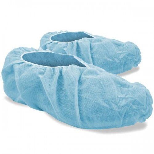 Disposable non woven shoe covers, 50 gsm by SR AMenities Hotel and Spa Supplies