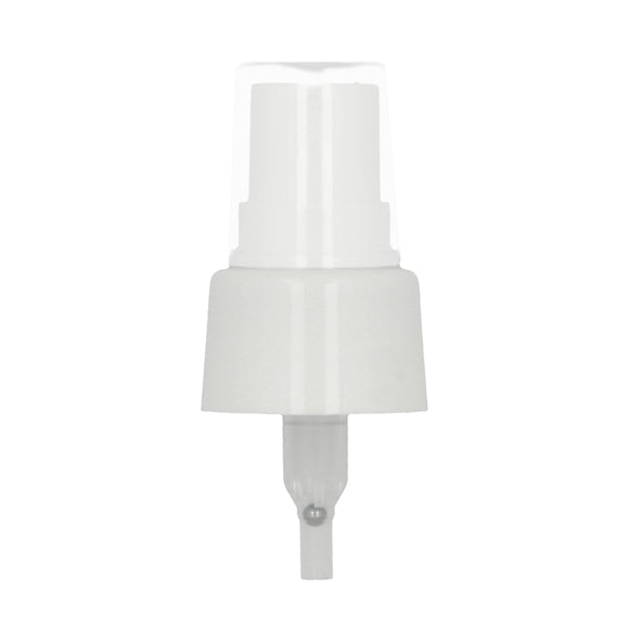 White spray pump nozzle, size 28/410 mm for 200 ml glass bottles. Buy at SR Amenities Hotel and Spa Supplies, www.sramenities.co.za
