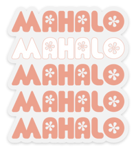Load image into Gallery viewer, Mahalo Sticker