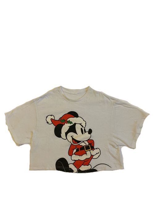 Christmas Mickey Crop