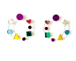 Candy Hoop Earrings