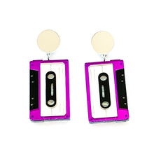 Load image into Gallery viewer, Cassette Earrings