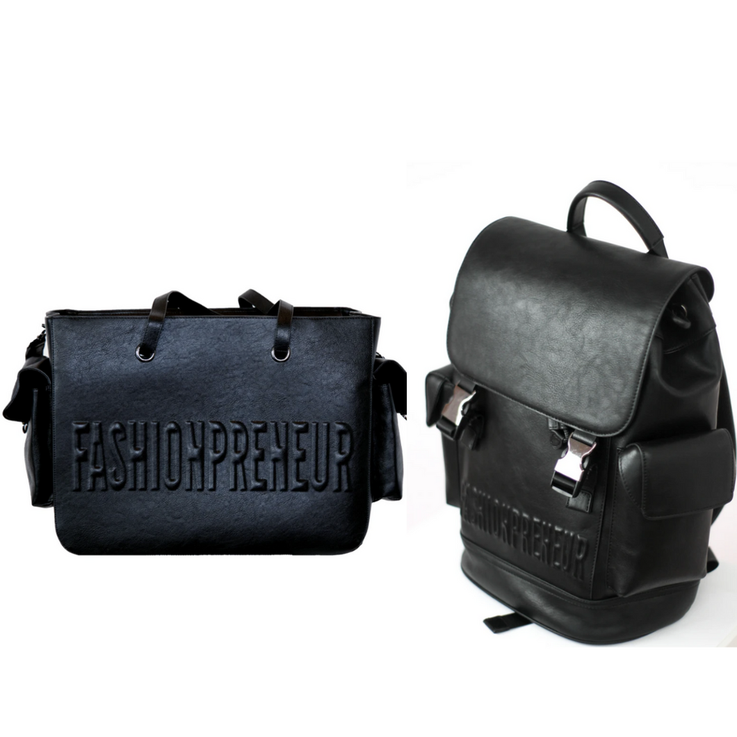 THE BUNDLE: ESSENTIALS BAG + BACKPACK