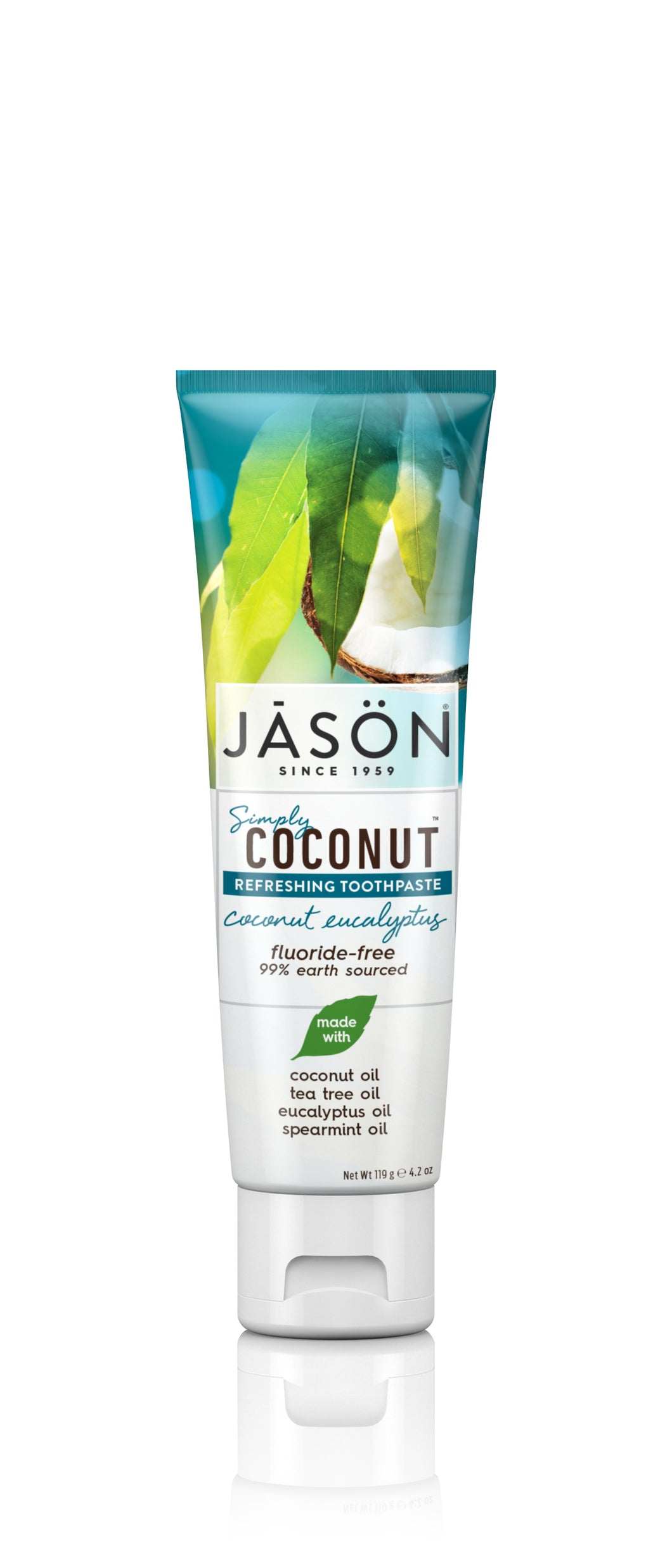 Simply Coconut™ Refreshing Toothpaste Coconut Eucalyptus