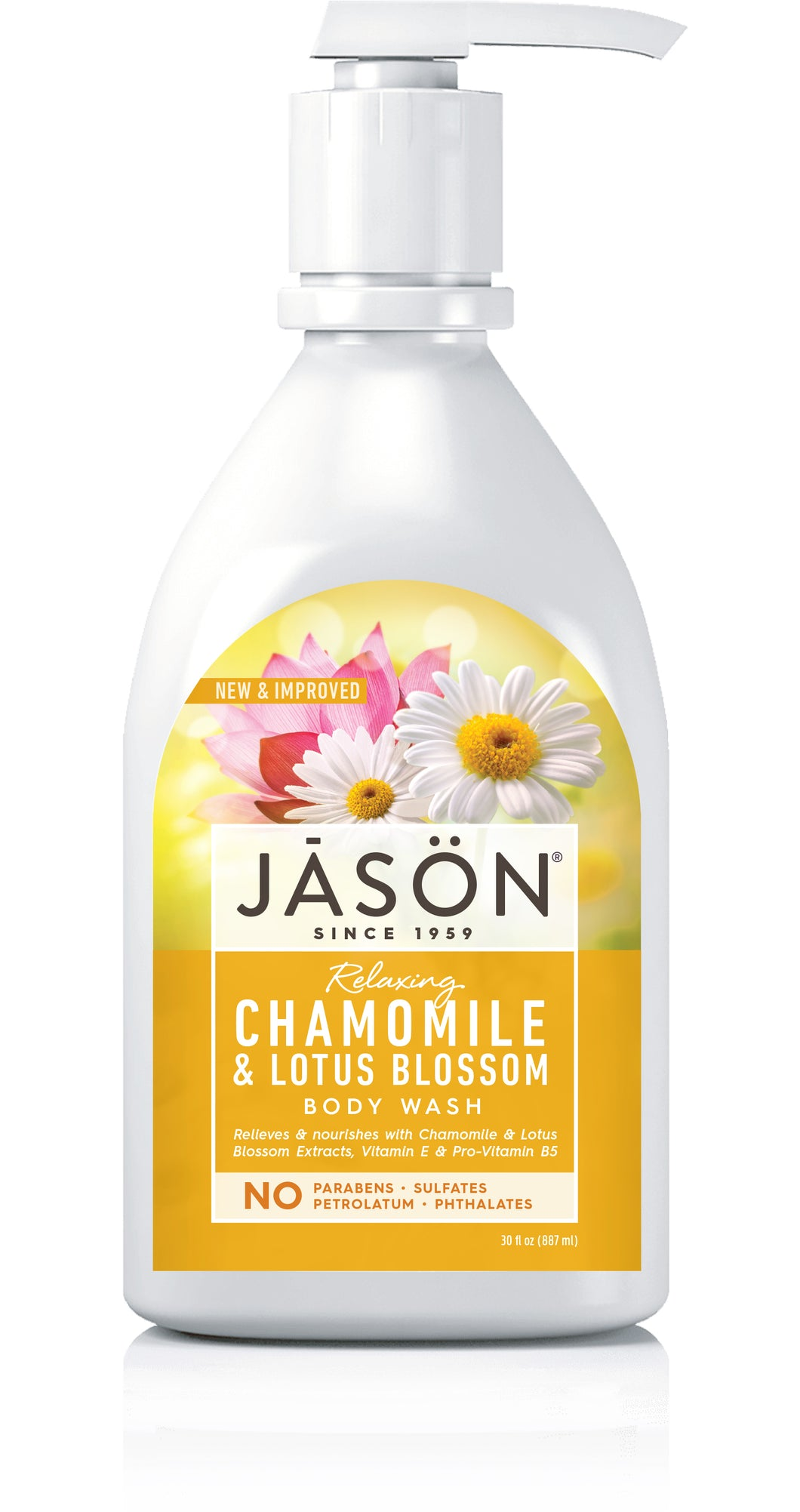 Relaxing Chamomile & Lotus Blossom Body Wash
