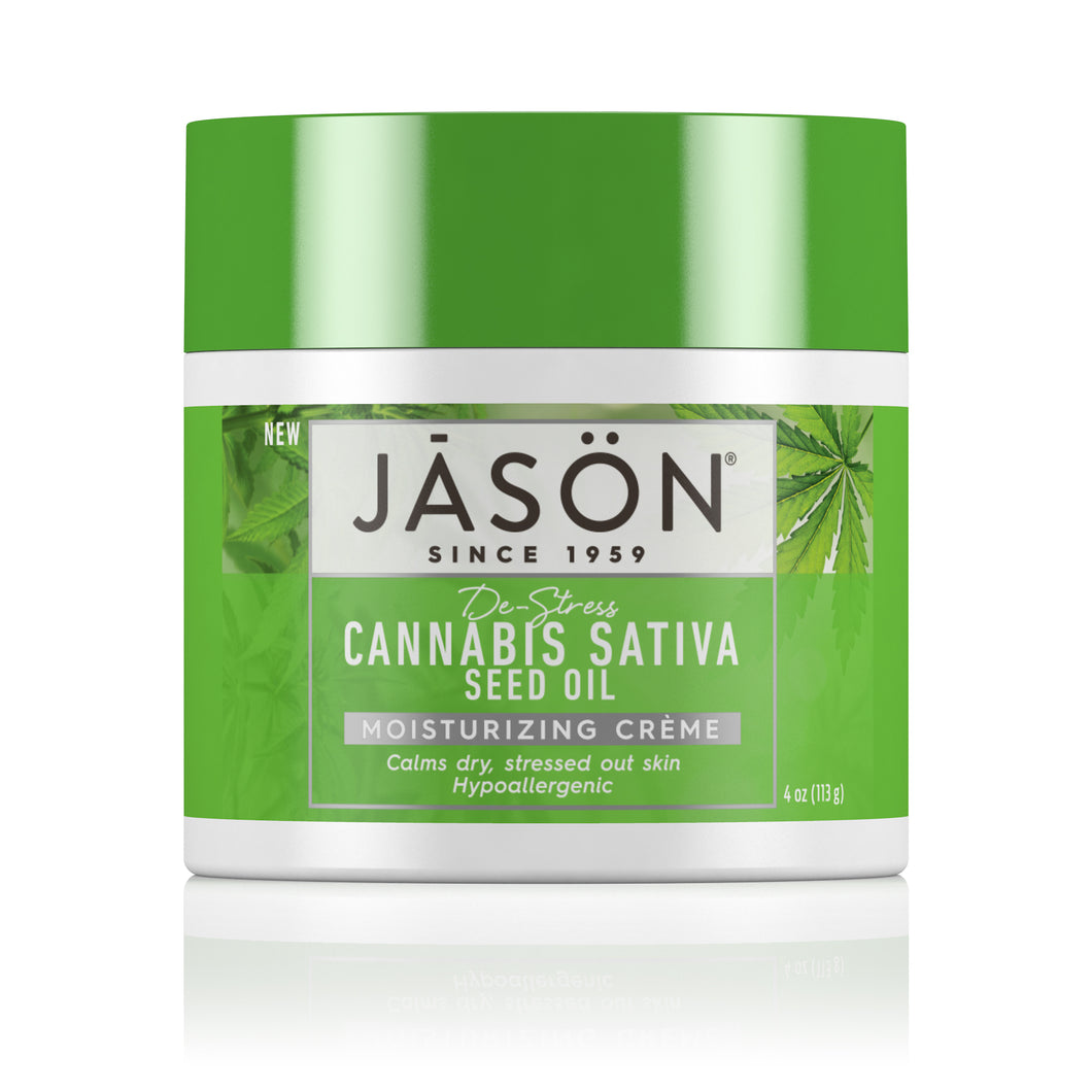 Cannabis Sativa Seed Oil Moisturizing Crème