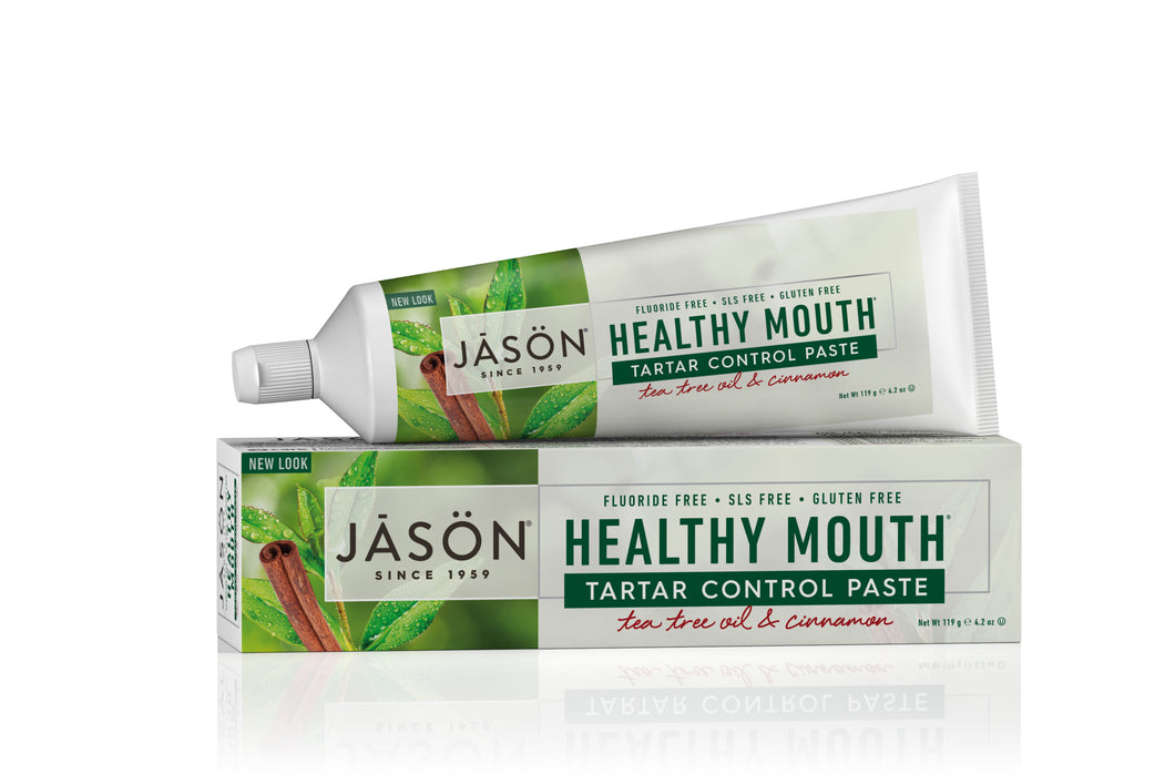 Healthy Mouth® Tartar Cotrol Paste Tea Tree Oil & Cinnamon