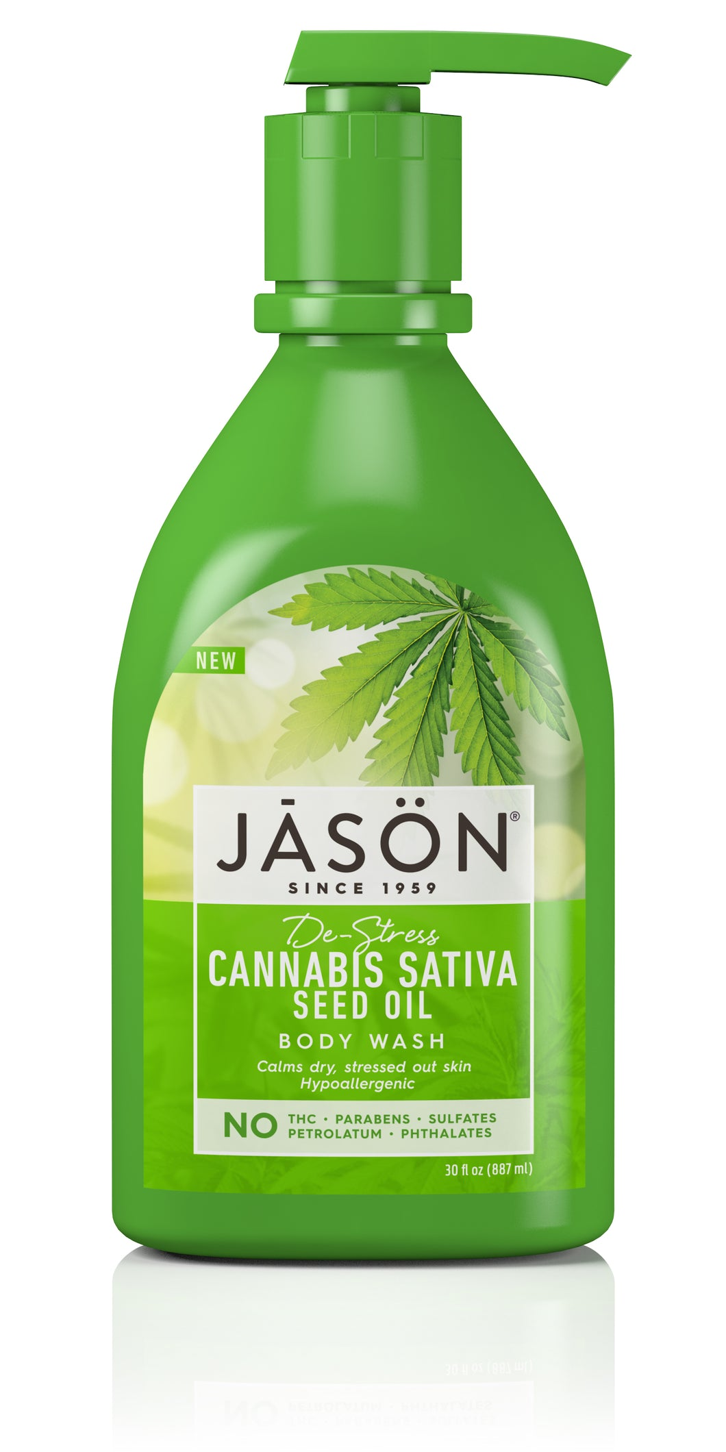 Cannabis Sativa Seed Oil Body Wash