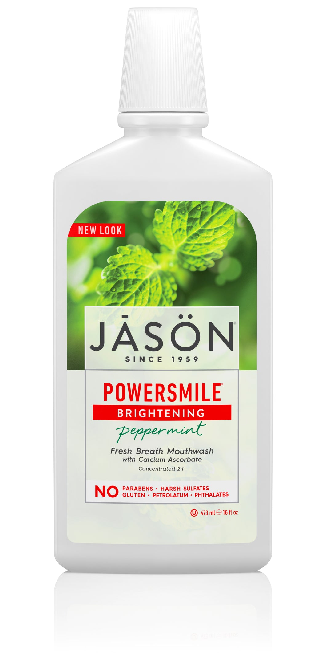 Powersmile® Brightening Peppermint Fresh Breath Mouthwash