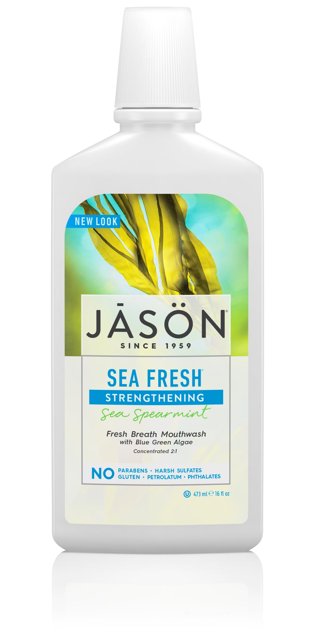 Sea fresh® Strengthening Sea Spearmint Fresh Breath Mouthwash