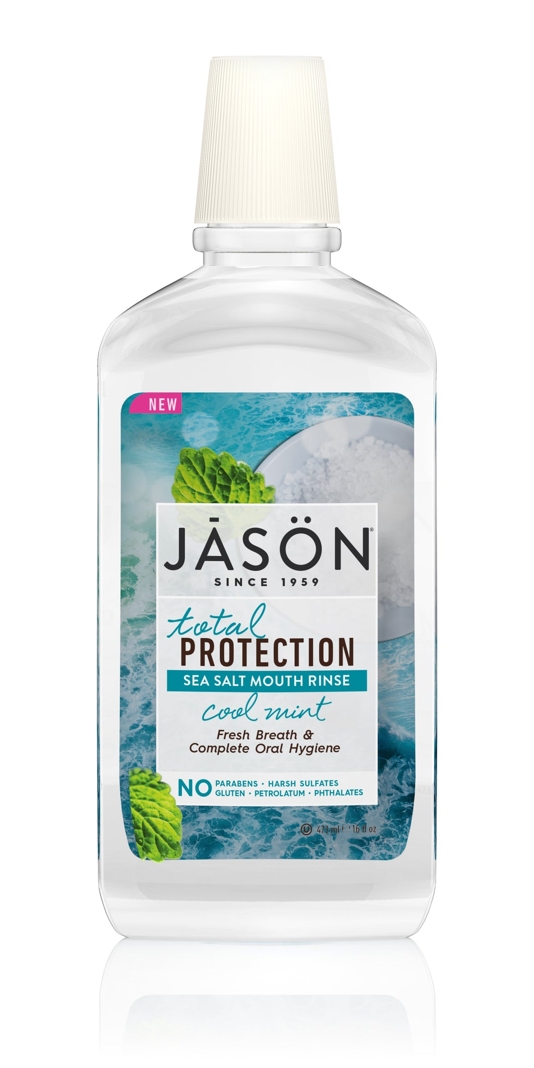 Total Protection Sea Salt Mouth Rinse Cool Mint
