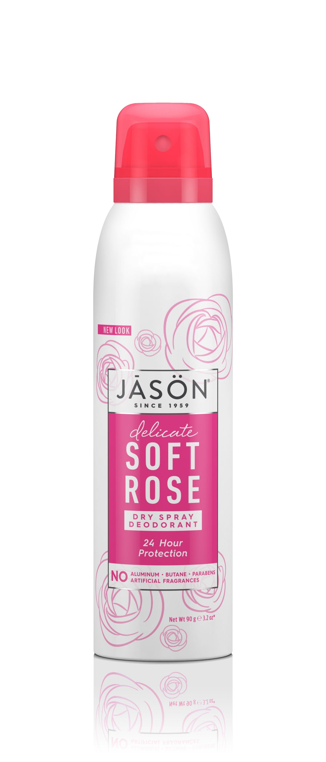Delicate Soft Rose Dry Spray Deodorant