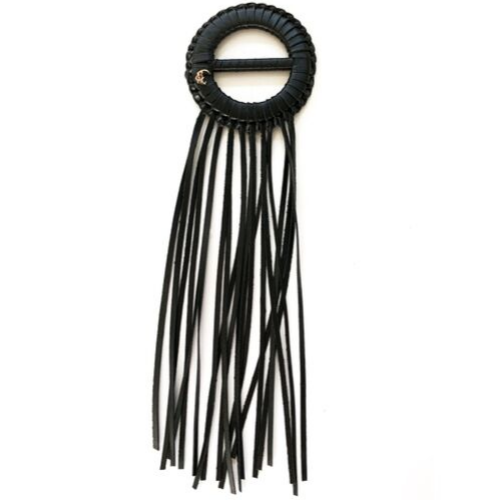 Sweater Size Fringe Benefits - Black