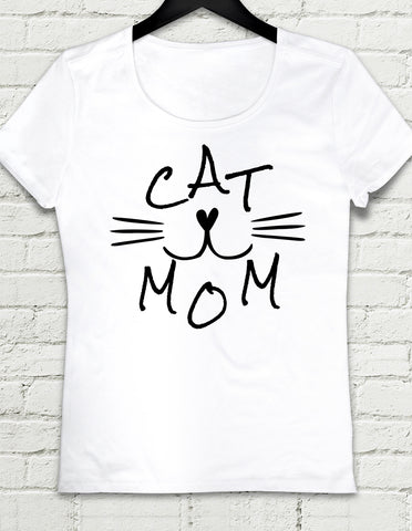 T-shirt -Cat Mom
