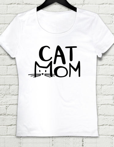 T-shirt - Cat Mom