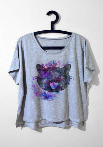 Salaş T-shirt - Cat Blur