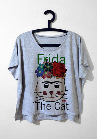 Salaş T-shirt - Frida The Cat
